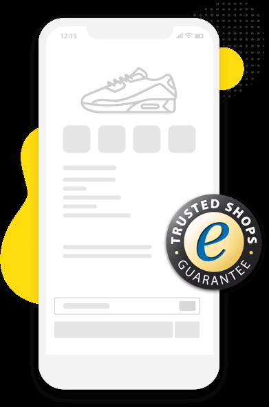 Het keurmerk toont u veilige online winkels.
